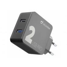 Cellularline USB Charger Dual 15W