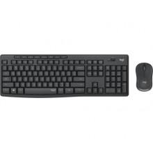 Logitech draadloos toetsenbord en muis MK295 AZERTY