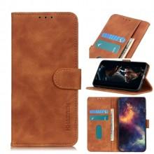 Samsung Galaxy A42 5G Waller Cover Khazneh Bruin
