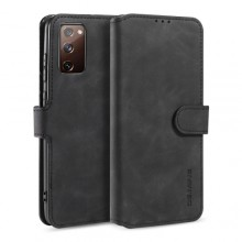 Samsung Galaxy S20 FE Wallet Cover Retro Oil Zwart