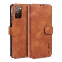 Samsung Galaxy S20 FE Wallet Cover Retro Oil Bruin