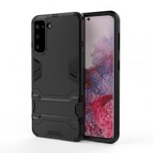 Samsung Galaxy S21 TPU + PC Case Shockproof met verborgen Houder