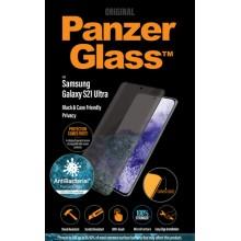 Samsung Galaxy S21 Ultra Curved PanzerGlass Zwart