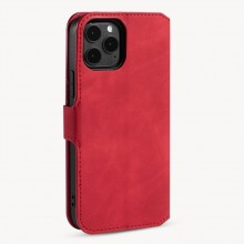 Apple iPhone 12 /12 Pro Wallet Cover Red