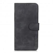 Samsung Galaxy A52 Wallet Cover Retro Oil Zwart