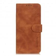 Samsung Galaxy A52 Wallet Cover Retro Oil Bruin