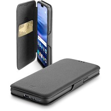 Huawei P20 lite Cellularline Book Clutch Zwart