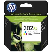 HP 302XL Inktcartridge Cyaan, Magenta en Yellow