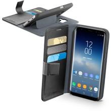 Samsung Galaxy S9+ Cellularline Book Agenda Case Zwart