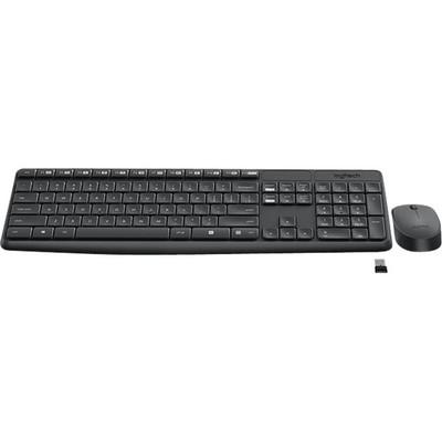 Logitech draadloos toetsenbord en muis MK235 AZERTY