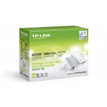 TP-Link TL-PA4025P Powerline Adapter Duo Kit 500Mbps met doorvoerstekker