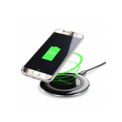 Cellularline Wireless Fast Charger Kit zwart
