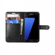 Samsung Galaxy S7 Spigen Wallet S Zwart