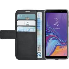 Samsung Galaxy A7 (2018) Azuri Wallet Case Zwart