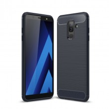 Samsung Galaxy A6+ (2018) Carbon Fiber TPU Case