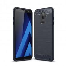 Samsung Galaxy A6+ (2018) TPU Case Carbon Fiber