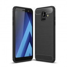 Samsung Galaxy A6 (2018) Carbon Fiber TPU Case