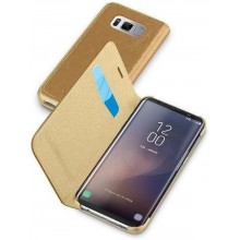 Samsung Galaxy S8 Cellularline Book Essential Case Bruin