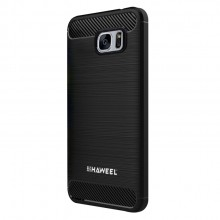 Samsung Galaxy S7 Brushed Carbon Fiber Shockproof TPU Protective Case