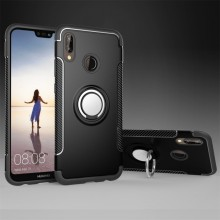 Huawei P20 Lite Back Cover Met Magnetische Ring