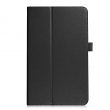 Samsung Galaxy Tab A Flip Cover Leather Litchi Texture