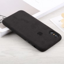Apple iPhone X / XS Suede Protective Back Cover