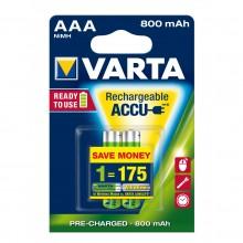 Varta Accu Plus AAA 800mAh