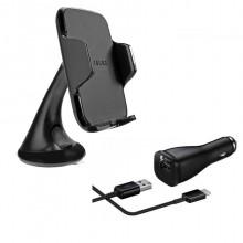 Samsung universele GSM autohouder EE-V200 + LN915 Micro USB