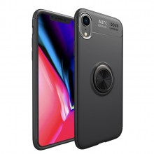 Apple iPhone XR Shockproof TPU Case Met Magnetische Ring