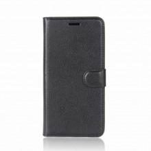 Samsung Galaxy S9 TPU Case Leather Litchi Texture