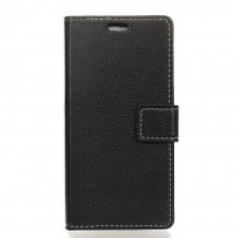 Apple iPhone X / Xs  Flip Cover Leather Litchi Texture