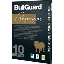 BullGuard Premium Protection - 1 Y / 10 D. Win, Mac, Android