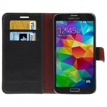 Samsung Galaxy S5 Wallet Case Leather