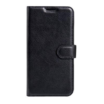 Apple iPhone 7 / 8  Wallet Case Leather Litchi Texture met magnetische gesp