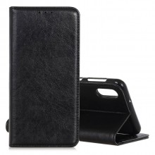 Samsung Galaxy A70 Wallet Case Leather Crazy Horse Texture