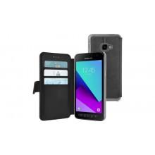 Samsung Galaxy Xcover 4 Wallet Case Zwart