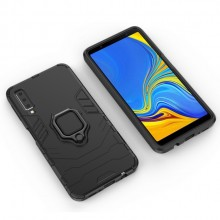 Samsung Galaxy A70 Back Cover Met Magnetische Ring