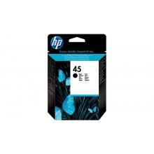HP 45 Inktcartridge Zwart (51645AE) 930 pagina's