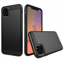 iPhone 11 Pro Max TPU Case Brushed Carbon Fiber Shockproof