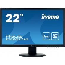 "IIYAMA 22""WIDE FHD TN VGA DVI-D HMDI 1ms Black"