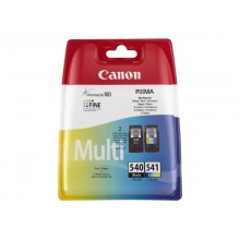 Canon PG540 + CL541 CMYK Combo Pack