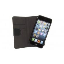Apple iPhone 5 / 5s / SE Holdit Wallet Case met verwijderbare Magnetische Cover Zwart
