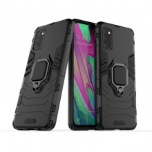 Samsung Galaxy A41 TPU + PC Case Shockproof With Magnetic Ring