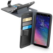 Samsung Galaxy A6 Cellularline Book Agenda Case Zwart