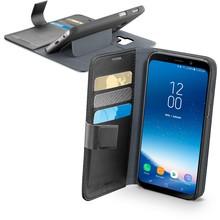 Samsung Galaxy A8 Cellularline Book Agenda Case Zwart
