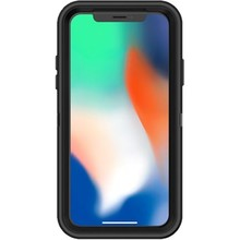 Apple iPhone X Otterbox Defender Zwart