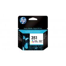 HP 351 Inktcartridge Drie-kleuren (170 pages)