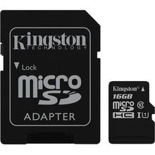 Kingston Micro SDHC Klasse 10 UHS - I met SD Adapter - 16 GB