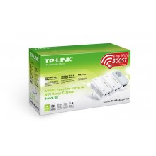 TP-Link TL-WPA4226T Powerline Adapter Trio Kit 500Mbps/300Mbps Wi-Fi