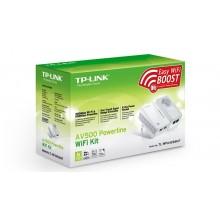 TP-Link  TL-WPA4226PKIT Powerline Wi-Fi Set 500Mbps met doorvoerstekker